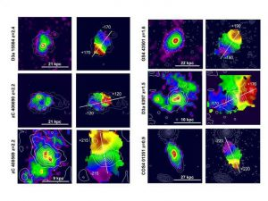 Study Shows Very Young Galaxies Dominated by 'Normal' Matter Not Dark Matter