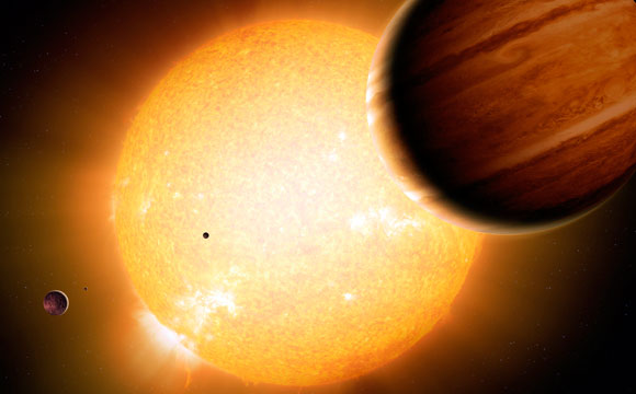 Study Shows Warm Jupiters Are Less Lonely Than Hot Jupiters
