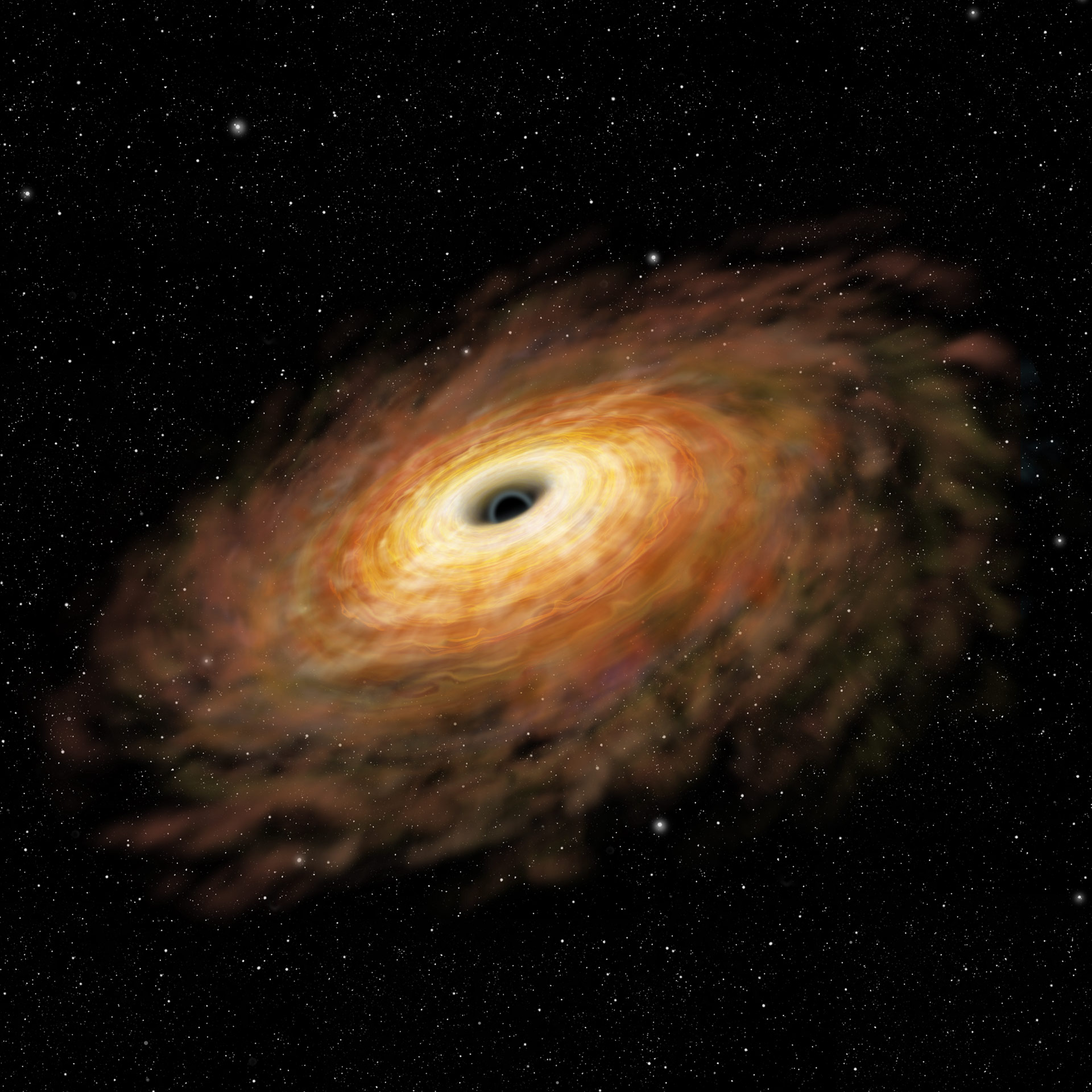 supermassive black hole real proof - photo #32
