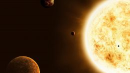 Sun-Like Star With Planets