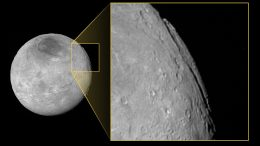 """Super Grand Canyon"" Discovered on Pluto's Moon Charon"