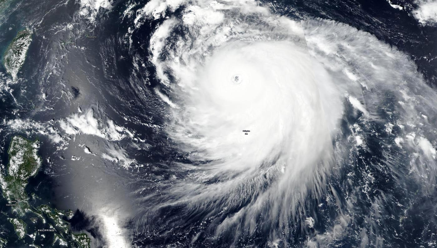 NASA Satellite Finds Haishen Now a Super Typhoon – With a 31 Mile-Wide Eye
