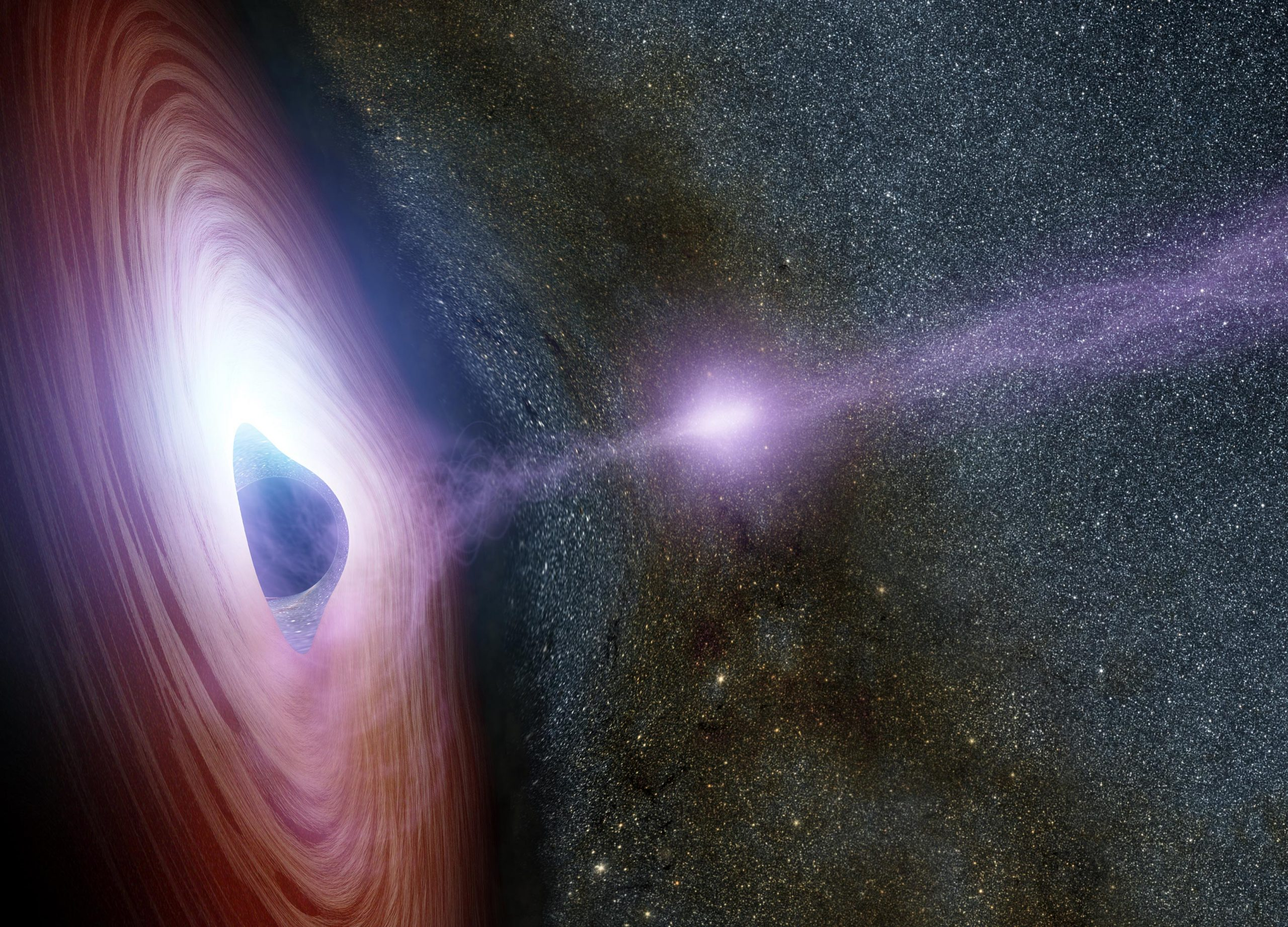Astronomers Watch a Black Hole's Corona Mysteriously Disappear, Then Reappear - SciTechDaily