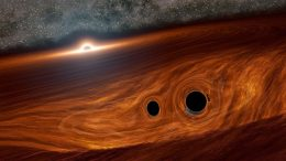 Supermassive Black Hole Surrounded by Two Black Holes