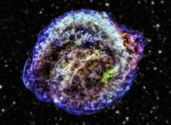 Supernova Reveals Clues About Crucial Cosmic Distance Markers