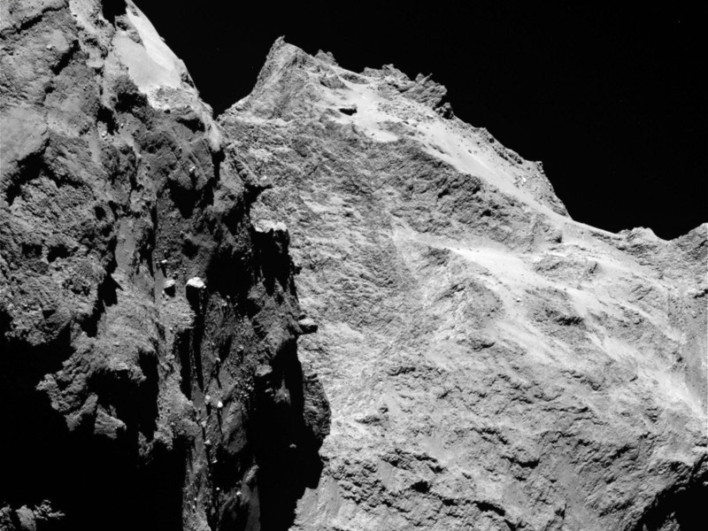High-Resolution Images Reveal Surface of Comet 67P ...