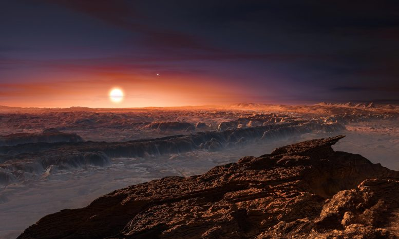 Surface Planet Proxima b