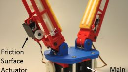 Surfaces a Key Element in Robotic Fingers