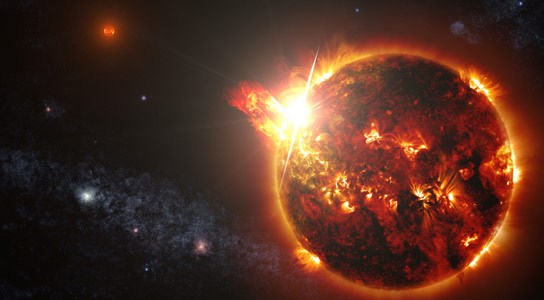 Swift Detects a Massive Superflare from a Red Dwarf Star