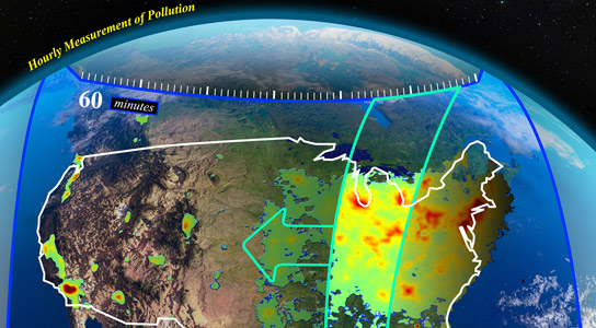 TEMPO Pollution Monitoring Instrument Passes Critical Review
