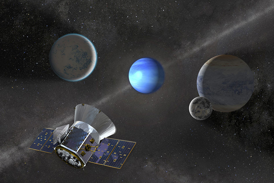 NASA's planet hunter TESS has just discovered a new distant world