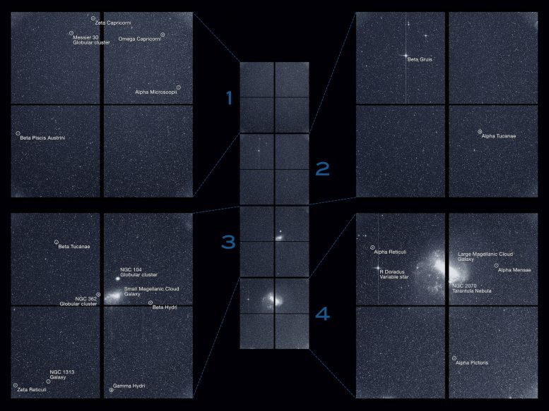 TESS First Light Images