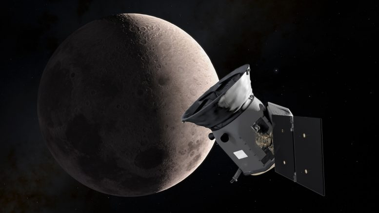 TESS Planet Hunter Snaps Initial Test Image