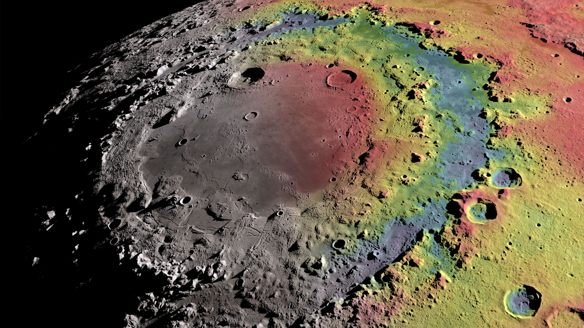 take a tour of the moon in all new 4k resolution