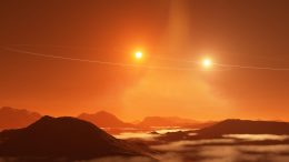 Tatooine Exoplanet Double Sunset