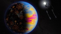 Technologically Advanced Exoplanet