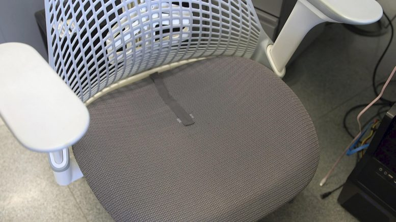 Temperature Sensors on Desk Chairs