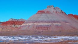 Tepees in Blue Mesa Member