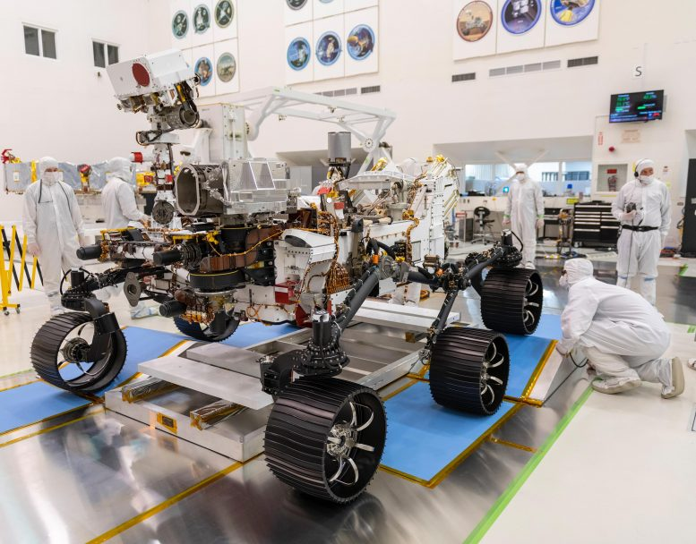 Test Drive Mars 2020 Rover