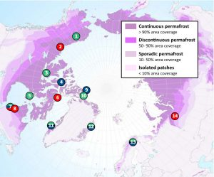 Thawing Permafrost is Changing Arctic and Subarctic Lakes