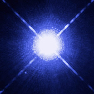 The Dog Star, Sirius, and its Tiny Companion