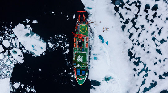 The Effects of Ice Retreat and Biodiversity in the Arctic Deep Sea
