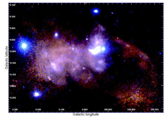 The Galactic Black Hole and Its Surrounding Emission in the Milky Way