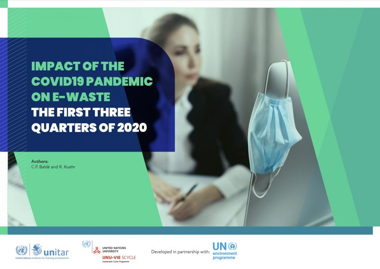 The Impact of the COVID 19 Pandemic on E waste in the First Three Quarters of 2020