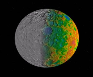 The Missing Large Impact Craters on Ceres