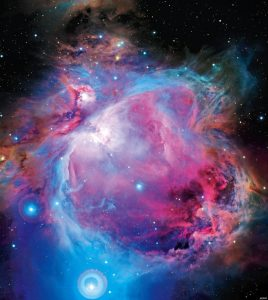 The Orion nebula in the optical by CFHT