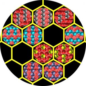 Theorists Show Flat Boron Form Would Depend on Metal Substrates