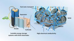 Thick Electrodes With Single-Walled Carbon Nanotubes