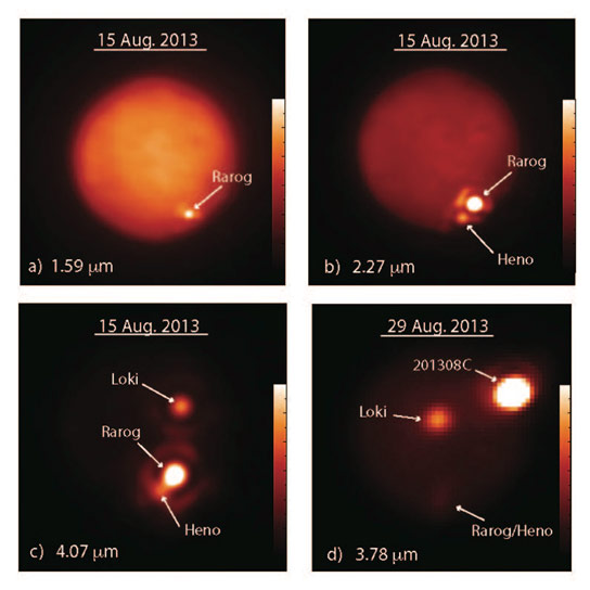 Three Massive Volcanic Eruptions on Jupiters Moon Io