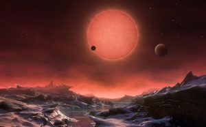 Three Potentially Habitable Worlds Found Around Nearby Ultracool Dwarf Star TRAPPIST-1