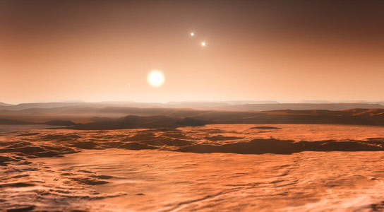 Three Super Earths Discovered in Gliese 667C