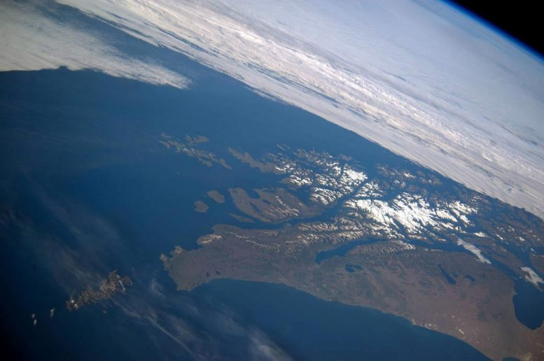 Tierra del Fuego From the International Space Station