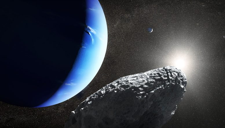 Tiny Neptune Moon Spotted by Hubble