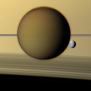 Titan's atmosphere is one of the most complex chemical environments in the solar system