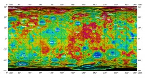 Topography on the Surface of Dwarf Planet Ceres