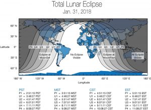 Total Lunar Eclipse Coming January 2018