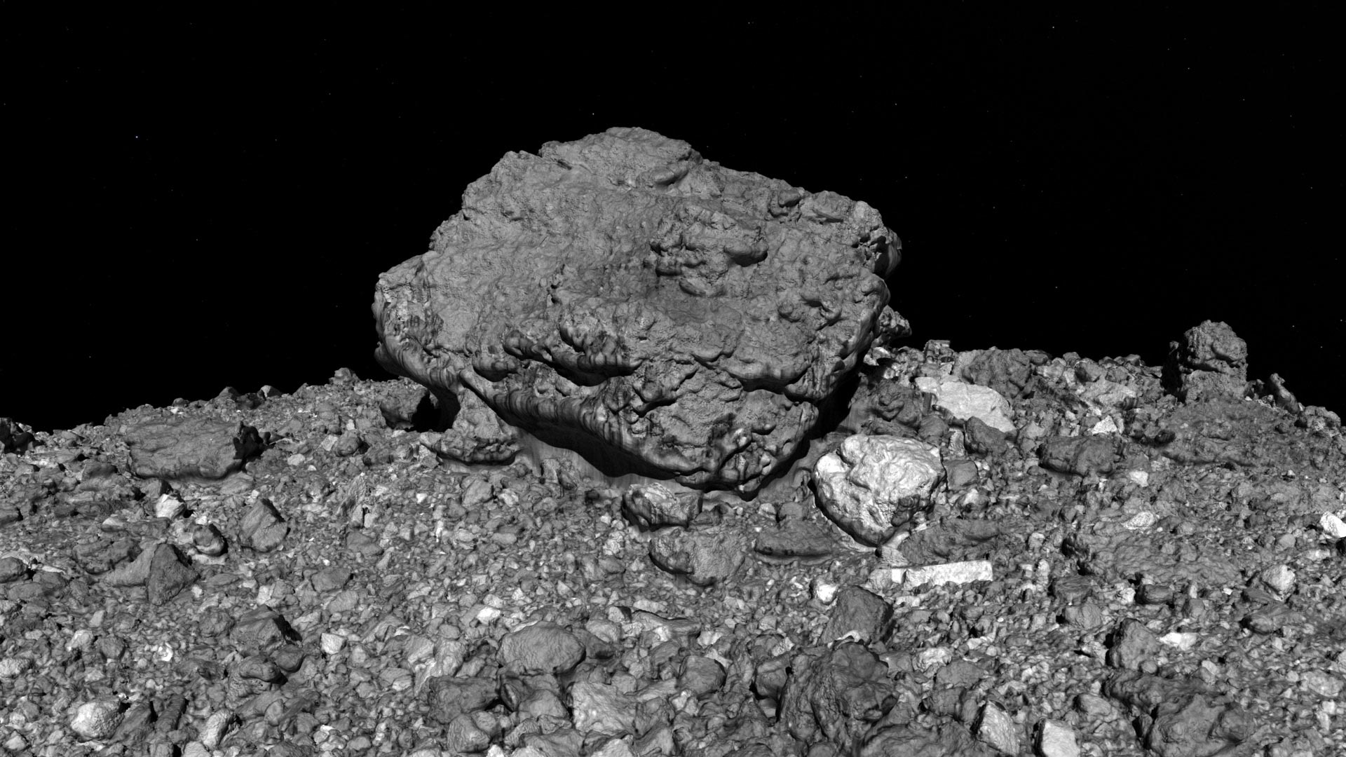 NASA OSIRIS-REx Mission Helps Solve a Mystery: Why Are Some Asteroid Surfaces Rocky? - SciTechDaily