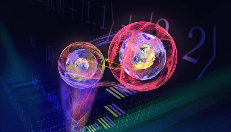 Transferring Three-Dimensional Quantum States