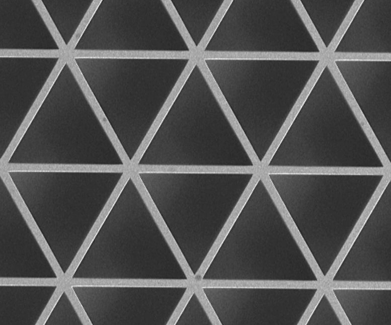 Triangle material topology