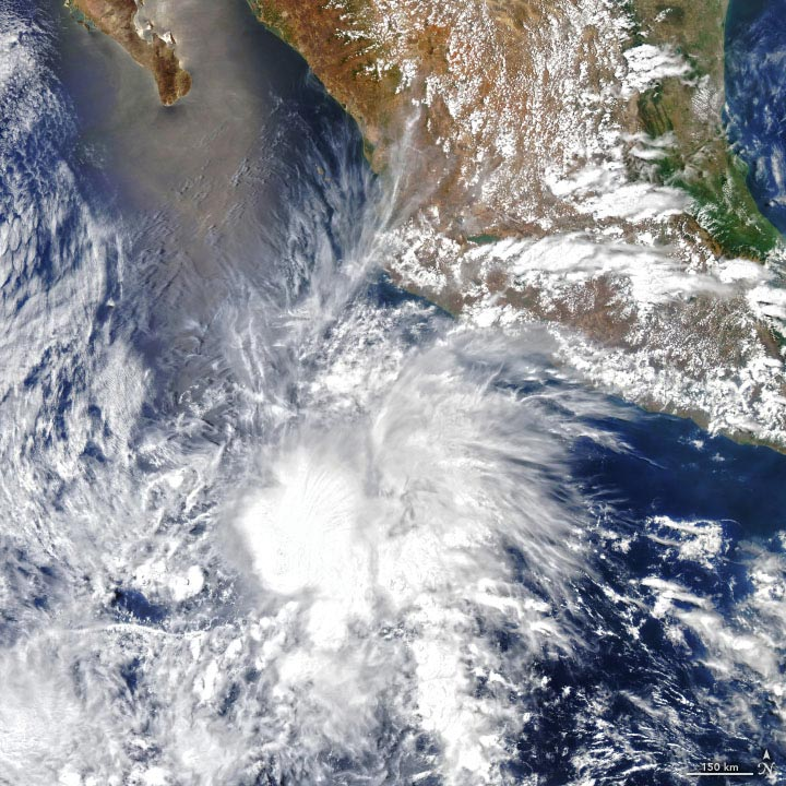Tropical Storm Andres Annotated