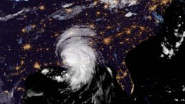 Tropical Storm Ida Passes Over Southern US