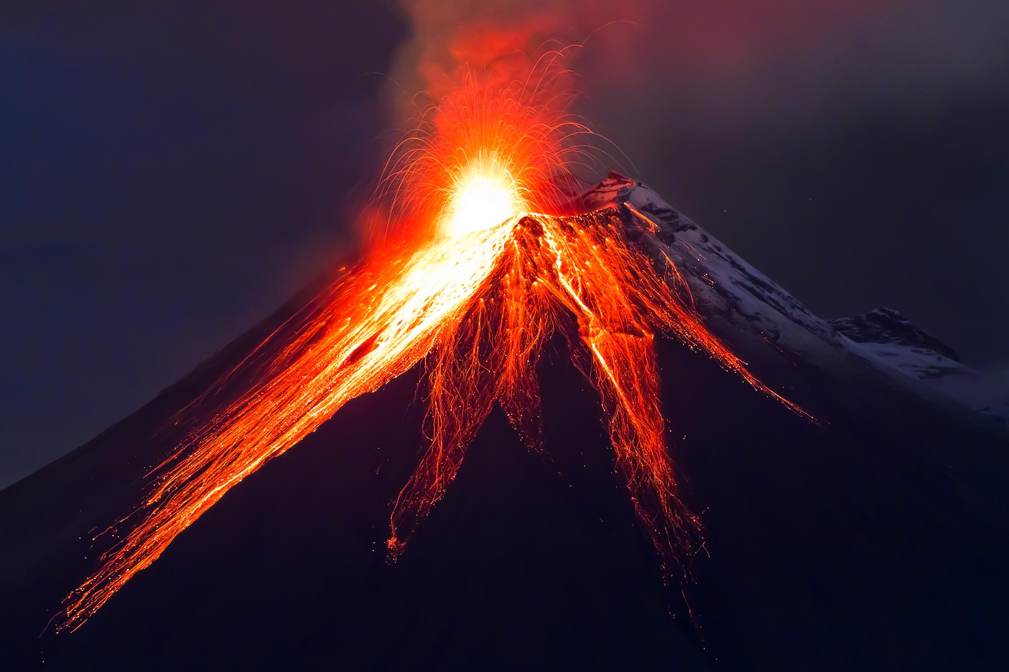 """Tungurahua Volcano """"The Black Giant"""" Showing Warning Signs of """"Potential Collapse"""" - SciTechDaily"""