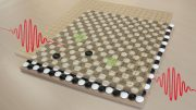 Two Electrons Two Holes Chessboard