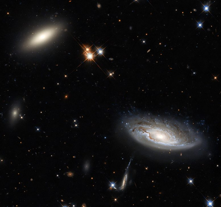 Two Enormous Galaxies