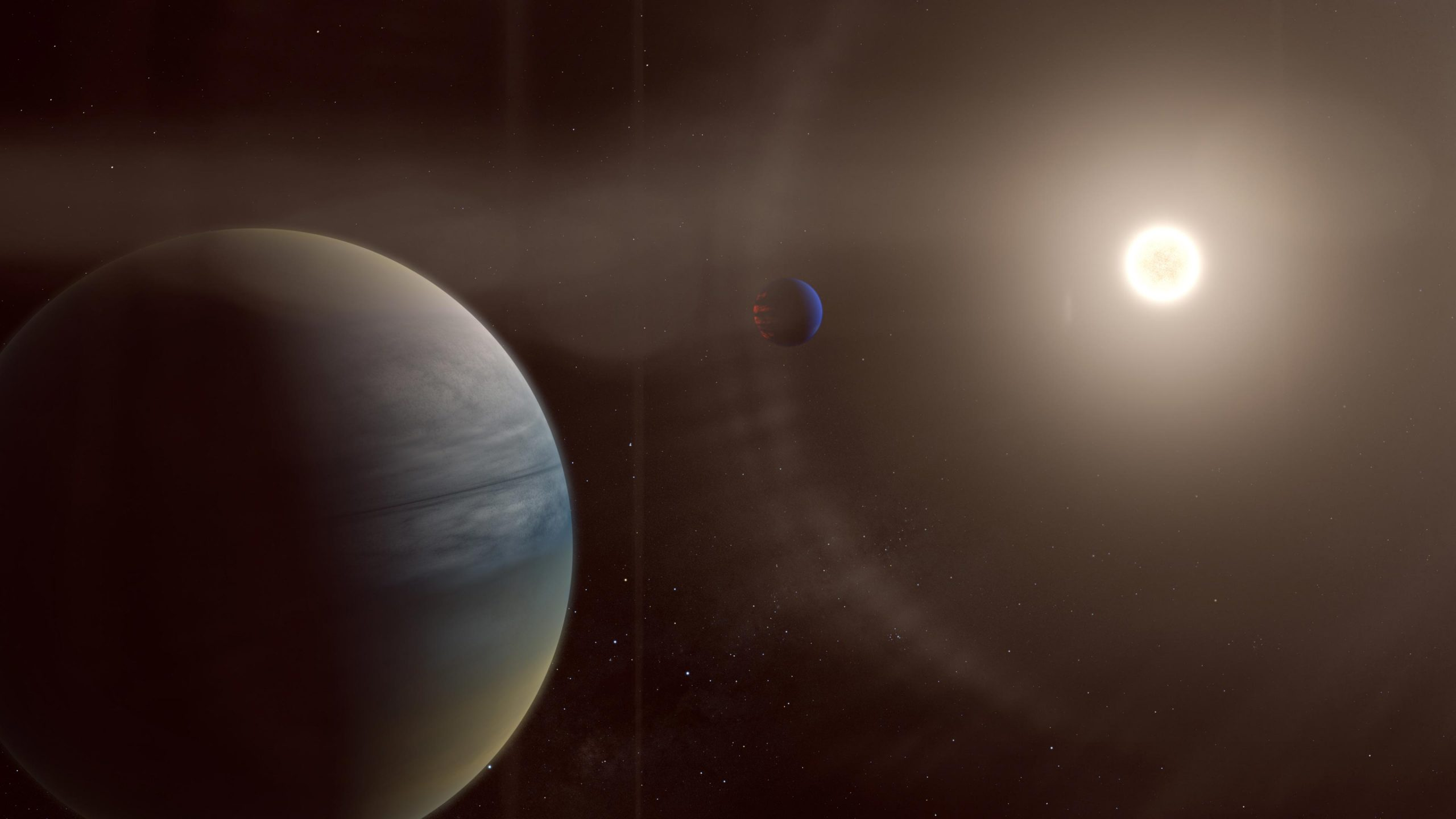 Out of This World Discovery by Citizen Scientists: Two Gaseous Planets Around a Bright Sun-Like Star - SciTechDaily