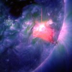Two Solar Flares Welcome 2014
